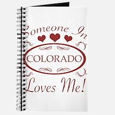 Somebody In Colorado Loves Me Journal