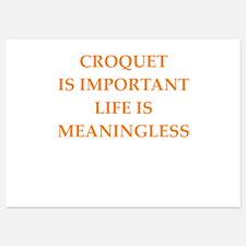 croquet Invitations