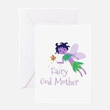 Fairy God Mother Greeting Cards