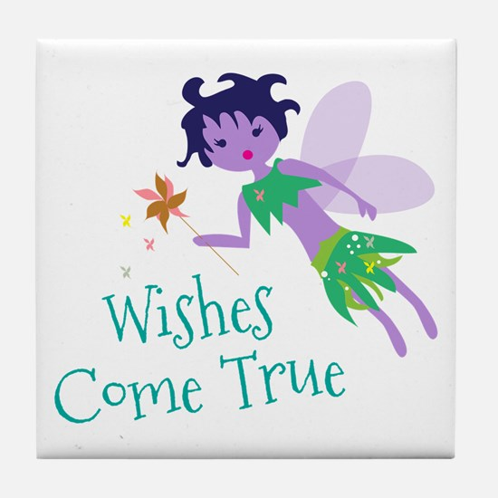 Wishes Tile Coaster