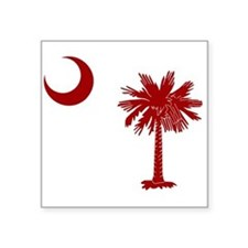 South Carolina Palmetto State Flag Sticker