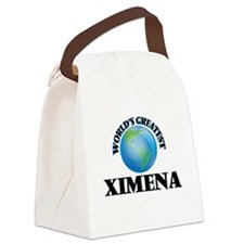 World's Greatest Ximena Canvas Lunch Bag