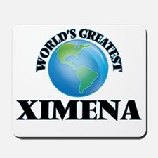 World's Greatest Ximena Mousepad