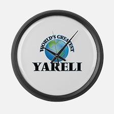 World's Greatest Yareli Large Wall Clock