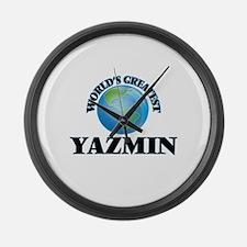 World's Greatest Yazmin Large Wall Clock