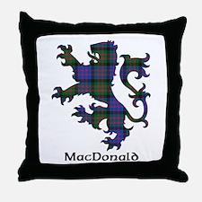 Lion - MacDonald Throw Pillow