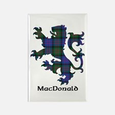 Lion - MacDonald Rectangle Magnet