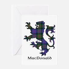 Lion - MacDonald Greeting Card