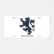 Lion - MacDonald Aluminum License Plate