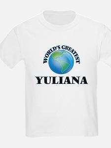 World's Greatest Yuliana T-Shirt