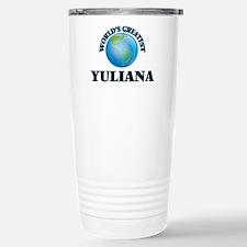 World's Greatest Yulian Travel Mug