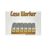 Case Worker Rectangle Magnet (10 pack)
