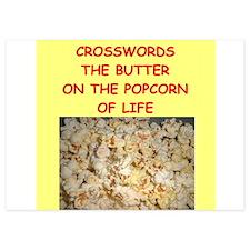 crossword Invitations