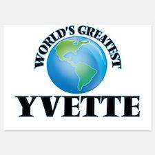 World's Greatest Yvette Invitations
