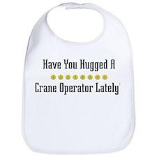 Hugged Crane Operator Bib