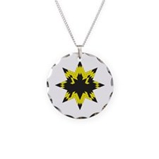 Ode to Batman Necklace Circle Charm