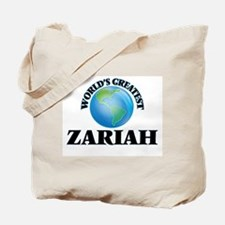 World's Greatest Zariah Tote Bag