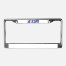 NERO University License Plate Frame