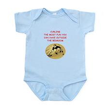curling,curler Infant Bodysuit