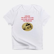 curling,curler Infant T-Shirt