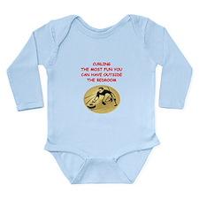 curling,curler Long Sleeve Infant Bodysuit