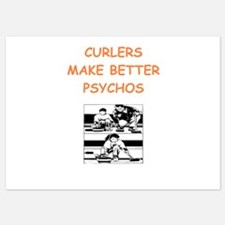 curler Invitations