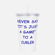 curler Acrylic Double-wall Tumbler