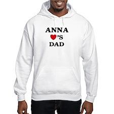Anna loves dad Hoodie