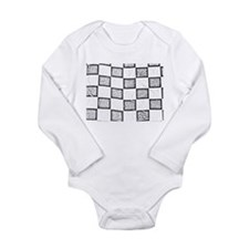 checkered flag Body Suit