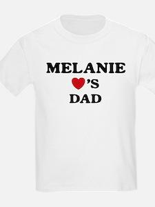 Melanie loves dad T-Shirt