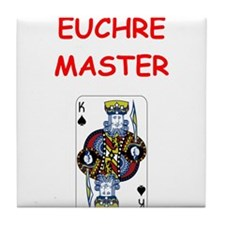 euchre Tile Coaster
