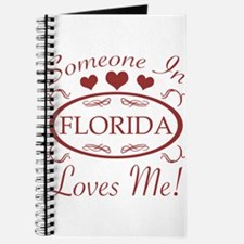 Somebody In Florida Loves Me Journal