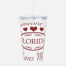 Somebody In Florida Lo Acrylic Double-wall Tumbler