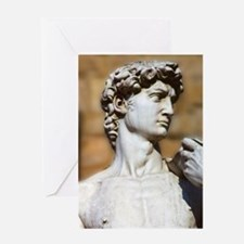 Famous David Statue in Florence Ita Greeting Cards
