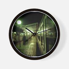 Unique Abandoned Wall Clock