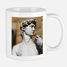 Famous David Statue in Florence Italy Mugs