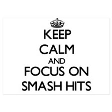 Keep Calm and focus on Smash Hits Invitations