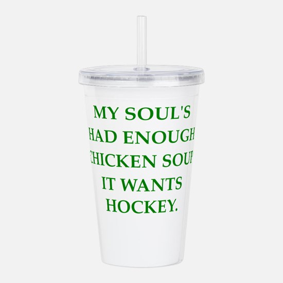 hockey Acrylic Double-wall Tumbler