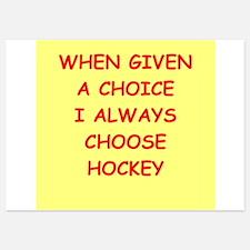 hockey Invitations