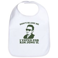 Cute Kim jong il Bib