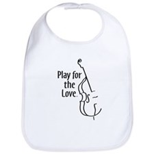 PLAY FOR THE LOVE BASS black Bib