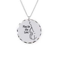 PLAY FOR THE LOVE BASS black Necklace