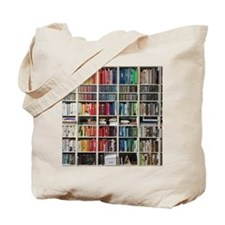 colorful library Tote Bag