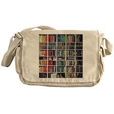 colorful library 2 Messenger Bag
