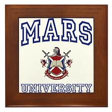 MARS University Framed Tile
