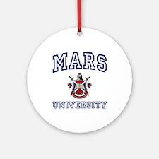 MARS University Ornament (Round)