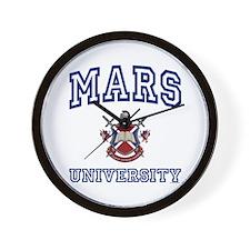 MARS University Wall Clock
