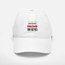 That's Hot Free Paris 9818783 Baseball Baseball Cap