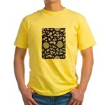 Abstract Whimsical Flowers T-Shirt