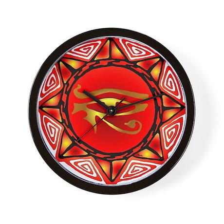 Horus Storm Wall Clock